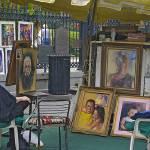 """Jackson square art colony display"" by sandrabolensamuel"