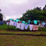 """South Africa Clothes Drying on Clothesline"" by KsWorldArt"