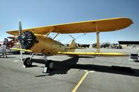Yellow Stearman Marine Trainer