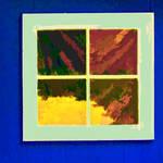 """Abstract Window Reflection"" by waynelogan"