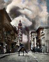 '06 Earthquake & Fire, Calif. St. San Francisco by WorldWide Archive
