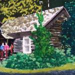 """08262012 Montana Cabin"" by garlandoldham"