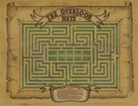 Overlook Hotel Maze Map