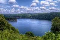 Summersville Lake from Longpoint Overlook