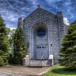 """Saint Anthony Shrine, Boomer, WV"" by Pipevinestudio"