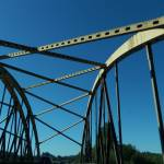 """""""Blue Sky Bridge"""" by kyaudeart"""