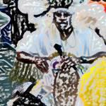 """""""Rhythm Drummer"""" by paulyworksfineart"""