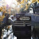 """Georgetown barge on the C & O Canal"" by TOMSHEA"