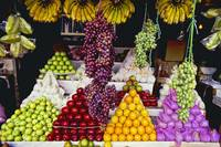 Fruit stand in Indonesia