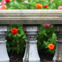 Flowers and Balustrade