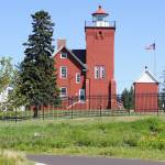 """Two Harbors Lighthouse Station"" by afb"