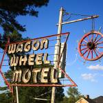 """Route 66 - Wagon Wheel Motel"" by Ffooter"