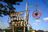 Route 66 - Wagon Wheel Motel 2012