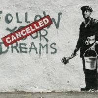 Banksy Cancelled Dreams Art Prints & Posters by GTR Art World Wide