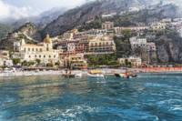 Positano from the Sea