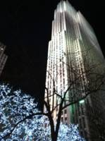 Rockefeller Center during the Holidays, NYC