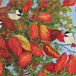 """Chickadee Trio"" by Sharon_himes"