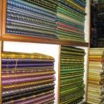 """""""Lustrous Fabrics"""" by MiniArora"""
