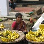 """bananas for sale"" by MiniArora"