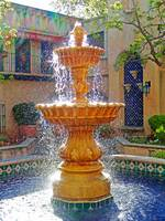 Tlaquepaque Fountain in Sunlight