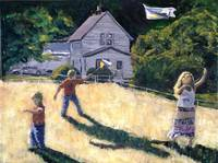 Farm Kids and Kites