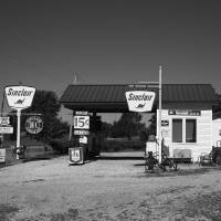 Route 66 Gas Station Art Prints & Posters by Frank Romeo