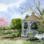 """Garden Gazebo"" by Sharon_himes"