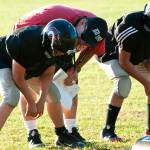 """Coaching the Linemen"" by carlnelson"