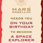 """Mars Magellan_space_explorer"" by springwoodemedia"