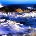 """Turbulent Sea2"" by waynelogan"