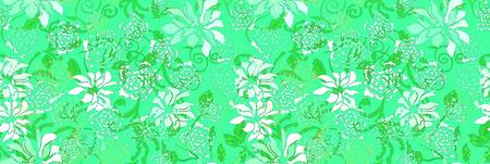 Fascination Dahlias Pattern