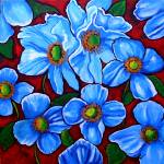 """Himalayan Blue Poppies"" by reniebritenbucher"