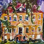 """South Carolina Drayton Hall House by Ginette"" by GinetteCallaway"