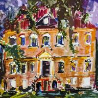 """South Carolina Drayton Hall House by Ginette"" by Ginette Callaway"