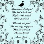 """""""Mother Goose Nursery Rhyme"""" by mariancates"""