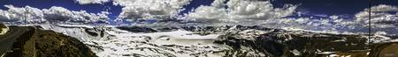 Beartooth Pass Twin Lakes Panoramic