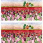 """""""violet and crimson tulips double"""" by studiobythesound"""