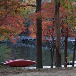 """Cumberland Mountain State Park - Canoe"" by Vicki_S_Vaden"
