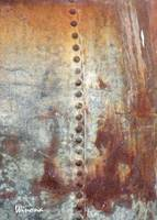 Copper Rivets Abstract