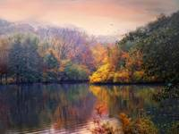 Autumn on a Lake