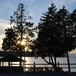 """Sunset, Ephraim, Door County, Wisconsin."" by marina_karsten"