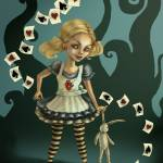 """Alice in Wonderland"" by DianaLevinArt"