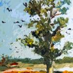 """""""Modern Landscape A Tree On My Way"""" by GinetteCallaway"""