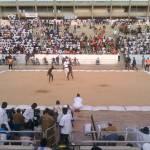 """Senegalese Wrestling"" by HannahFaye"