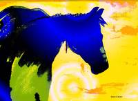 Southwest Blue Horse