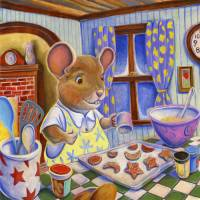 Baker Mouse Art Prints & Posters by Matthew Finger