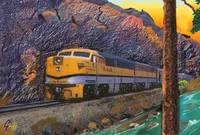 The Rio Grande Royal Gorge Train