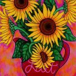 """Saturday Morning Sunflowers"" by LisaLorenz"