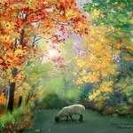"""""""Autumn Foliage"""" by EMBlairArtwork"""