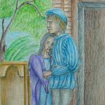 """Romeo and Juliet scene"" by thuraya"